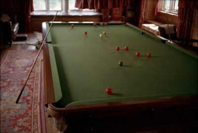 Man Cave Design: Billiard Table